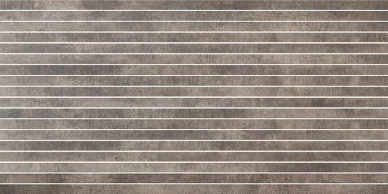 Krea Nut | stripes von Gigacer | Keramik Fliesen