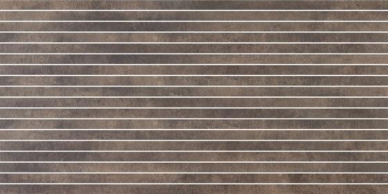 Krea Ground | stripes von Gigacer | Keramik Fliesen