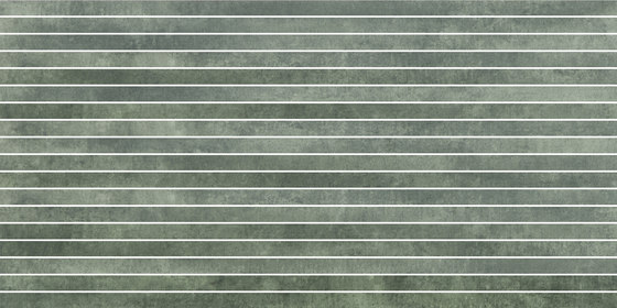 Krea Green | stripes by Gigacer | Ceramic tiles