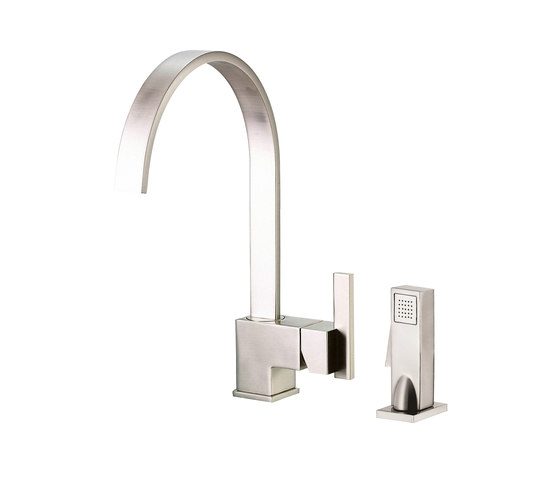 Sirius® | Single Handle Kitchen Faucet with Spray, 1.75gpm by Danze | Kitchen taps