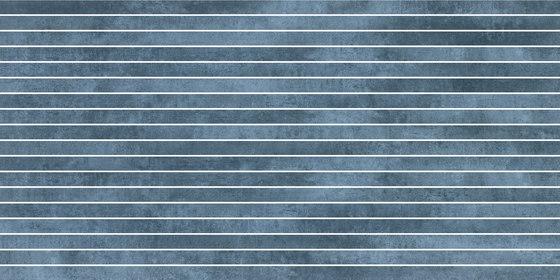 Krea Blue | stripes by Gigacer | Ceramic tiles
