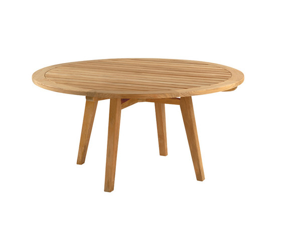 "Algarve Round Dining Table | 52"" de Kingsley Bate | Mesas comedor"