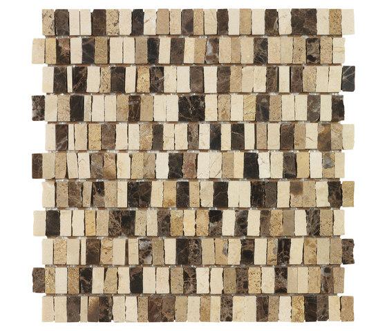 Dekostock Mosaics | Odeon by Dune Cerámica | Natural stone mosaics