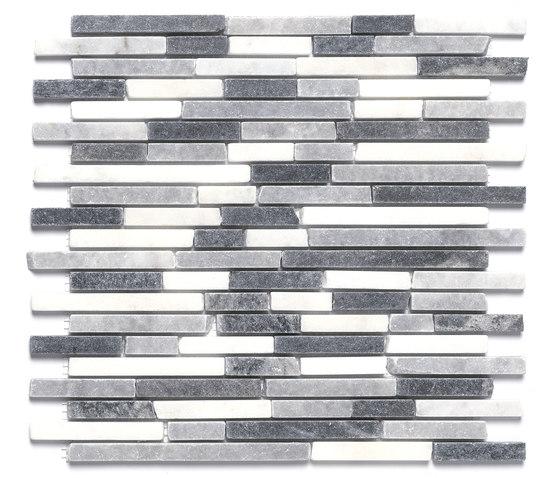 Dekostock Mosaics   Afyon Grey de Dune Cerámica   Mosaïques en pierre naturelle