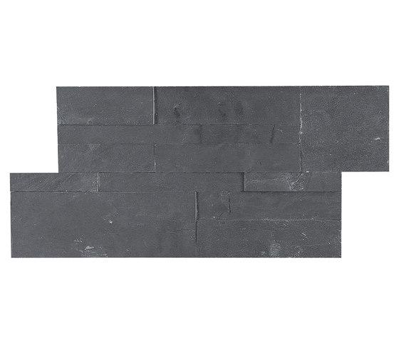 Dekostock Mosaics | Estratos Negro de Dune Cerámica | Mosaïques en pierre naturelle