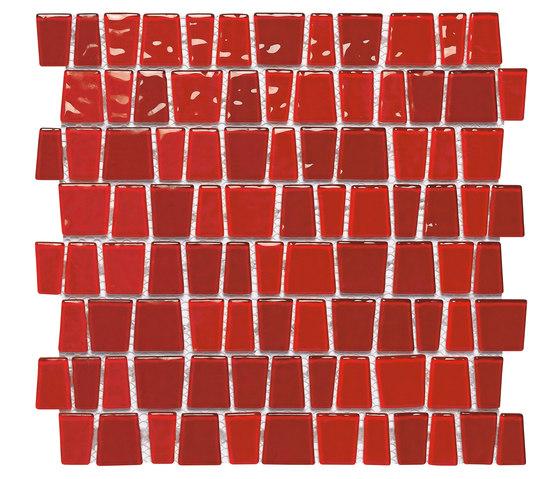 Dekostock Mosaics | Red Snake de Dune Cerámica | Mosaïques verre