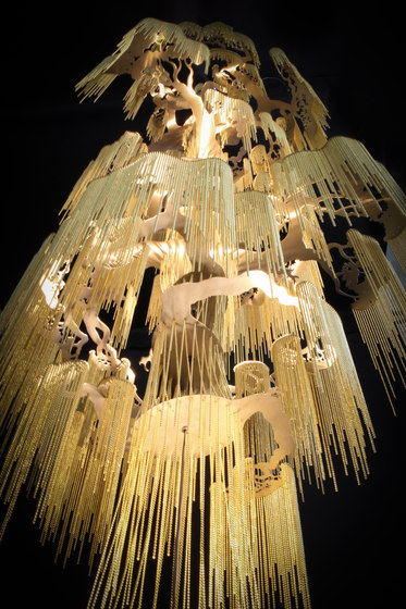 Enchanted Faraway Tree - 12 Tier - 1000 by Willowlamp | Suspended lights
