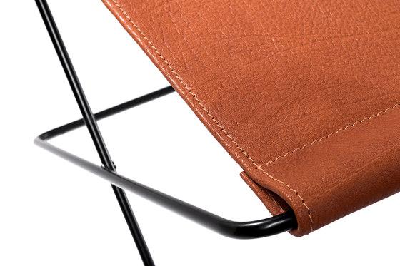 Hardoy | Footrest Organic Buffalo Leather de Manufakturplus | Tables d'appoint