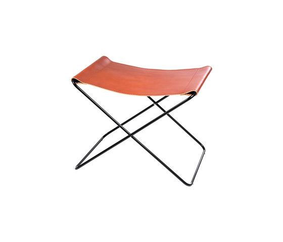 Hardoy | Footrest Sleek Leather di Manufakturplus | Tavolini alti