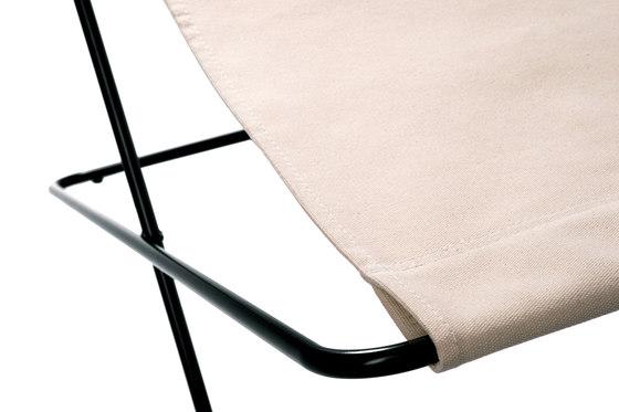 Fußteil Klappbar Baumwolle de Manufakturplus | Tables d'appoint