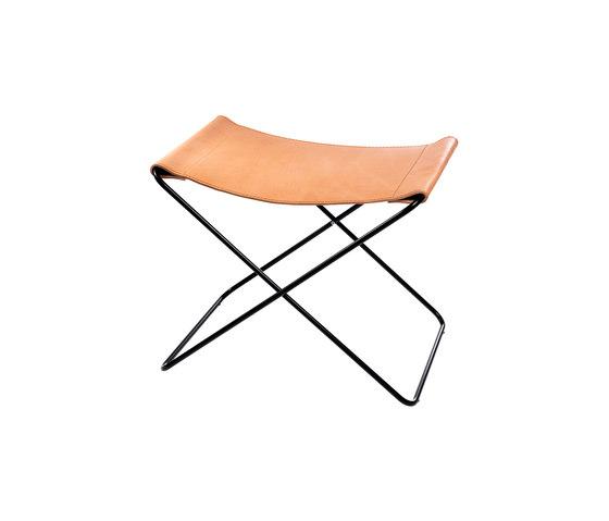 Hardoy | Footrest Saddle Leather di Manufakturplus | Tavolini alti