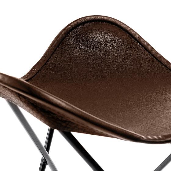 Hardoy | Stool Organic Buffalo Leather de Manufakturplus | Tabourets