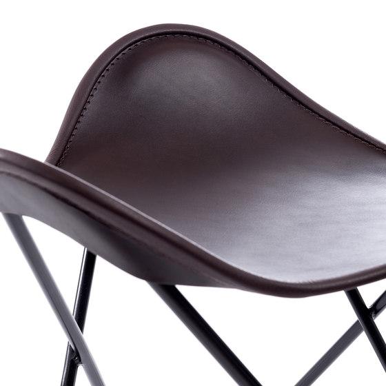 Hardoy | Stool Sleek Leather de Manufakturplus | Tabourets