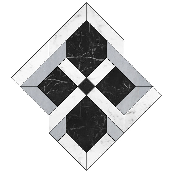 Elite Fußböden von Devon&Devon | Naturstein Mosaike