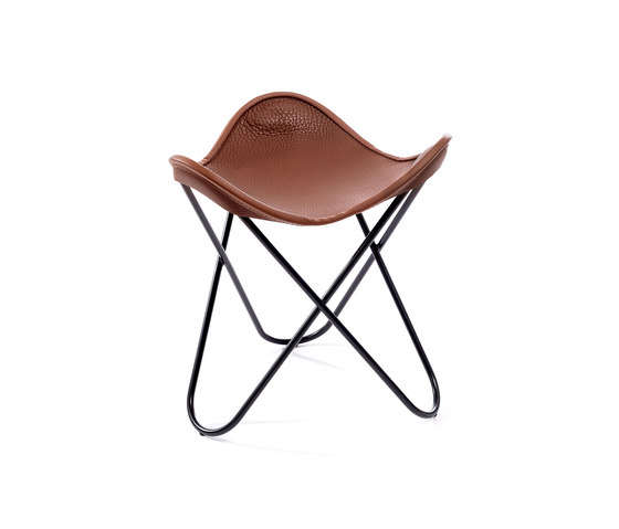 Hardoy | Stool Neck Leather de Manufakturplus | Tabourets