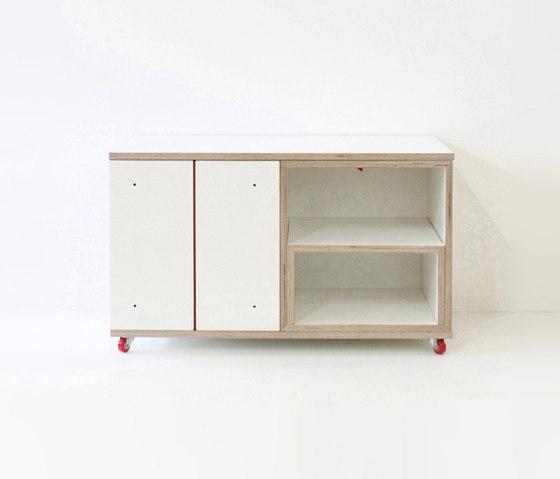 Paruz Beistelltisch di Andreas Janson | Tavolini alti
