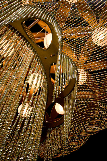 Custom Flower of Life by Willowlamp | Ceiling lights