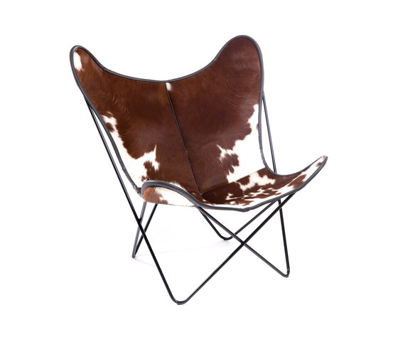 Hardoy | Butterfly Chair | Cowskin by Manufakturplus | Armchairs