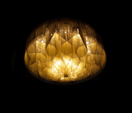 Mandala No.2 - 1000 - ceiling de Willowlamp   Plafonniers