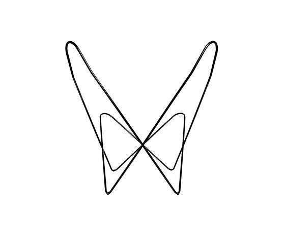 Hardoy Butterfly Chair - Gestell Stahl schwarz di Manufakturplus | Poltrone lounge