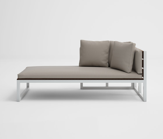 Saler Soft Teak Modular Sofa 2 by GANDIABLASCO   Sun loungers