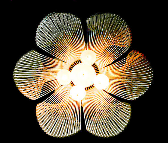 Moonflower - 700 by Willowlamp   Suspended lights