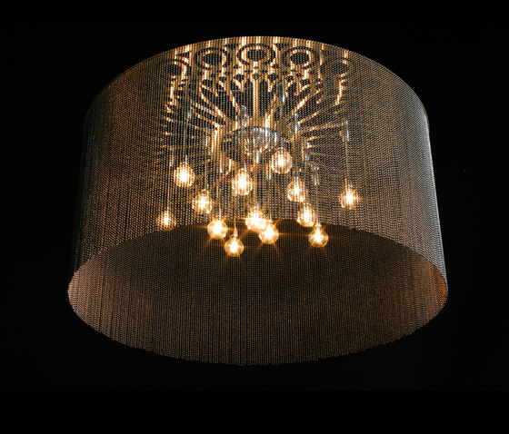 Ngoma Drum - 1000 - ceiling mount by Willowlamp | Ceiling lights