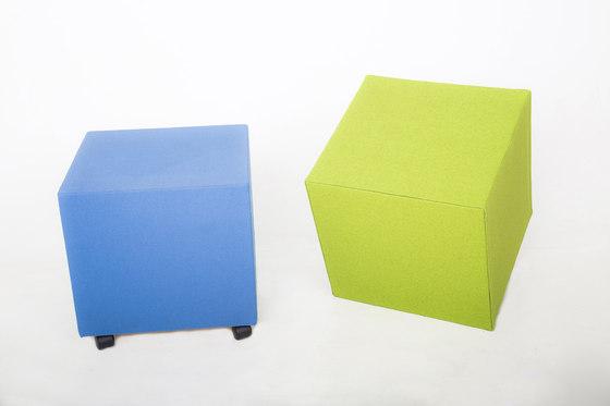 AGORAcubes | Würfel by AGORAphil | Sound absorbing furniture