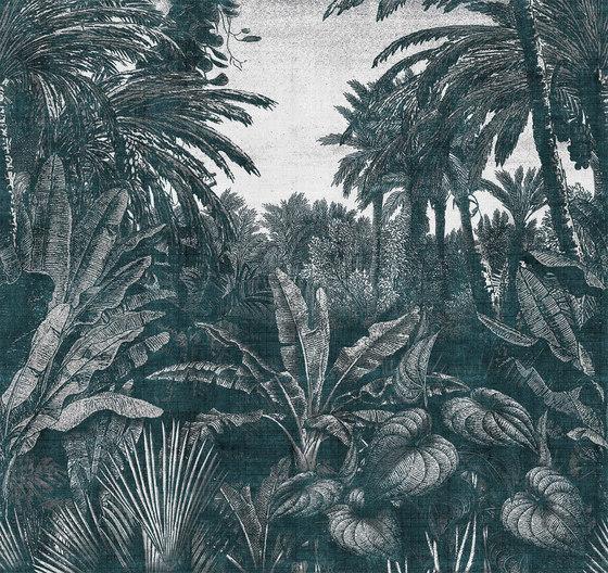 Tropical Mornings von LONDONART | Wandbeläge / Tapeten