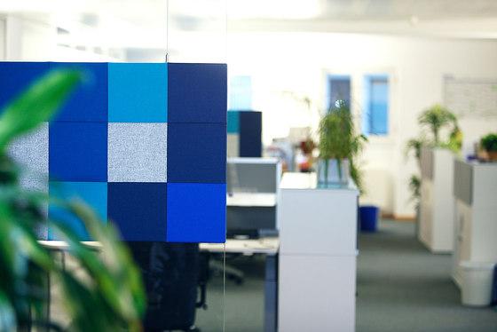 AGORApanel | Glaswand-Akustikpaneele by AGORAphil | Sound absorbing room divider