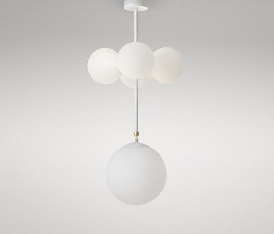 Axis 4 globes von Atelier Areti | Pendelleuchten