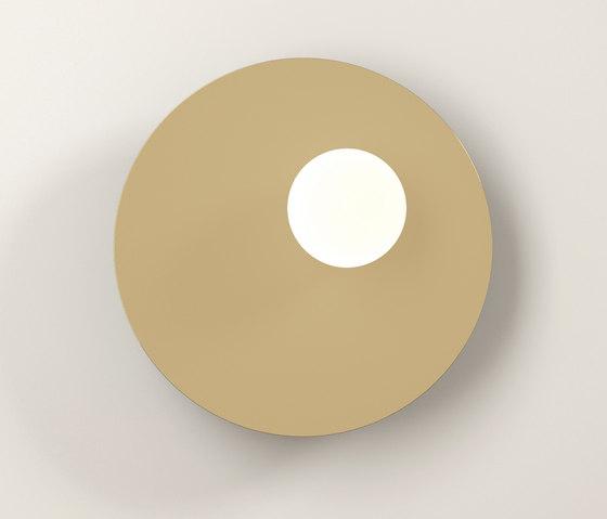 Disc and Sphere Wall Lamp asymmetric de Atelier Areti   Lámparas de pared