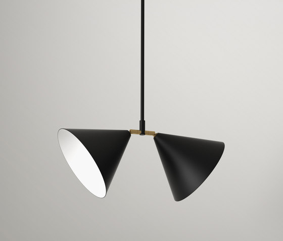 Double Pendant by Atelier Areti   Suspended lights