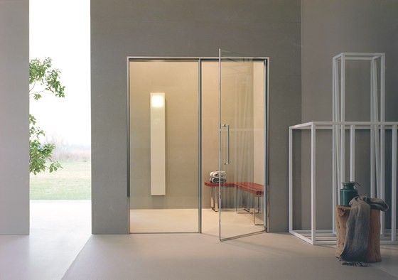 Spaziofilo 160 | doors and glass panels by EFFE PERFECT WELLNESS | Saunas
