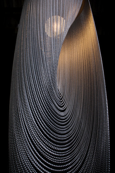 Spiral Pod 400 single Pendant Lamp by Willowlamp | Suspended lights