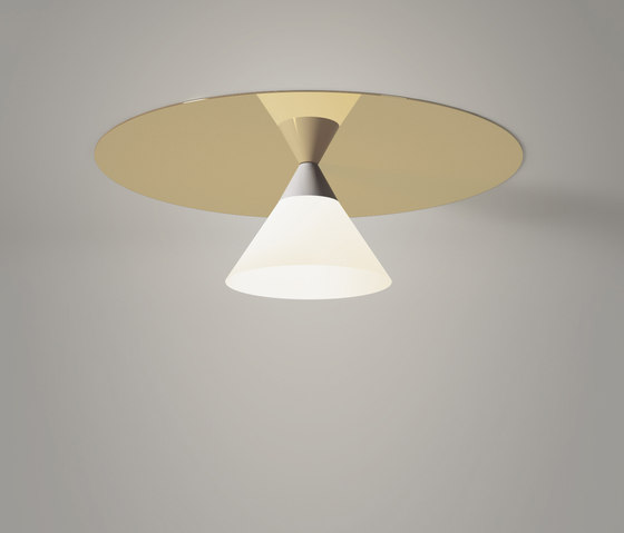 Plate And Cone Ceiling by Atelier Areti | Ceiling lights