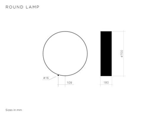 Round de Atelier Areti | Lámparas de suelo