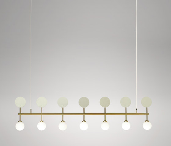 Row Pendant by Atelier Areti   Suspended lights