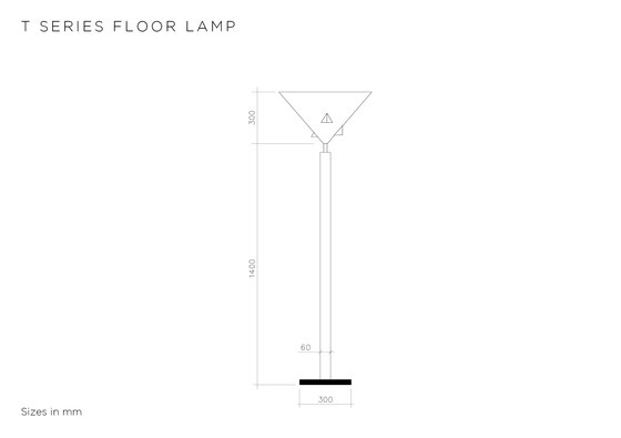 T Series Floor by Atelier Areti | Free-standing lights