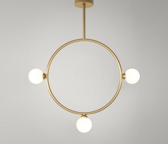 Circle Pendant Globes 03 de Atelier Areti   Iluminación general