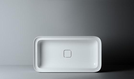 Cameo Sink | 75 x 40 h14 (tutta vasca) by Valdama | Wash basins