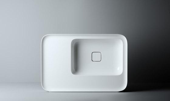 Cameo Sink | 75 x 50 h14 by Valdama | Wash basins