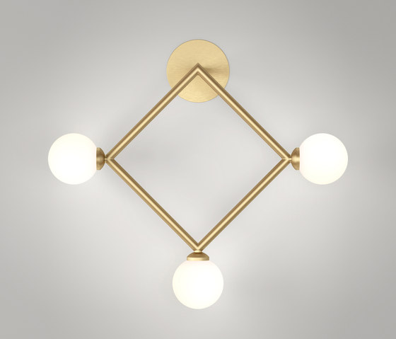 Rhombus Wall by Atelier Areti | Wall lights