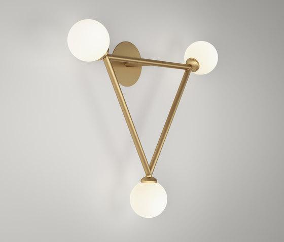 Triangle Wall de Atelier Areti | Lámparas de pared