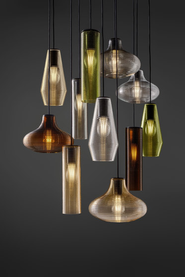 Olivia by Panzeri | Pendant lights in metal