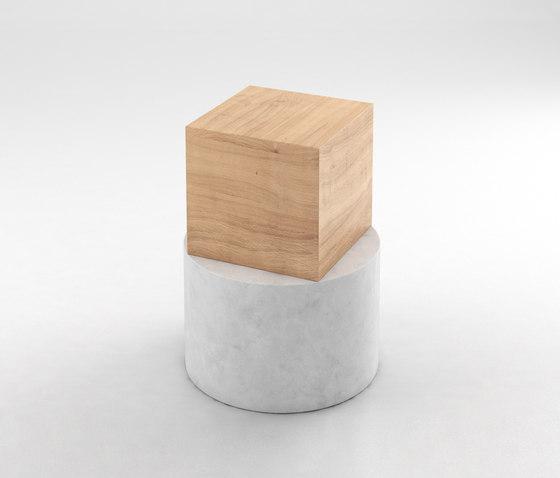 Box And Cylinder de Atelier Areti   Mesas auxiliares