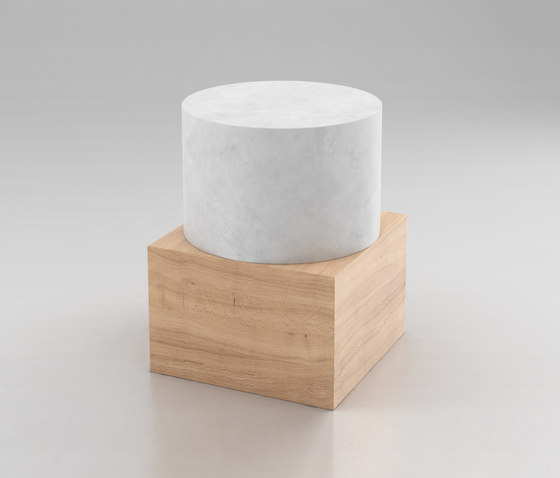 Box And Cylinder by Atelier Areti | Side tables