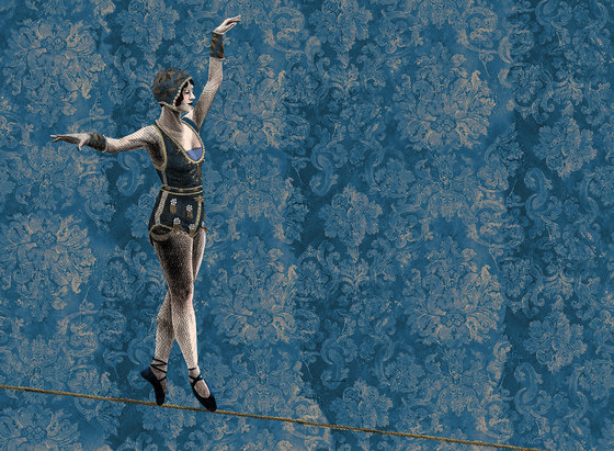 The Circus Leaves Town by LONDONART | Wall coverings / wallpapers