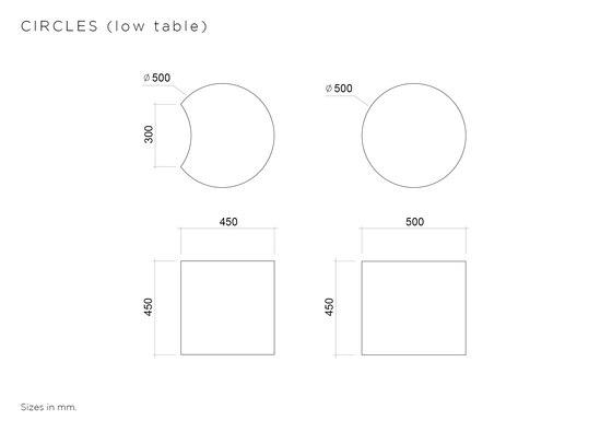 Circles di Atelier Areti | Tavolini da salotto