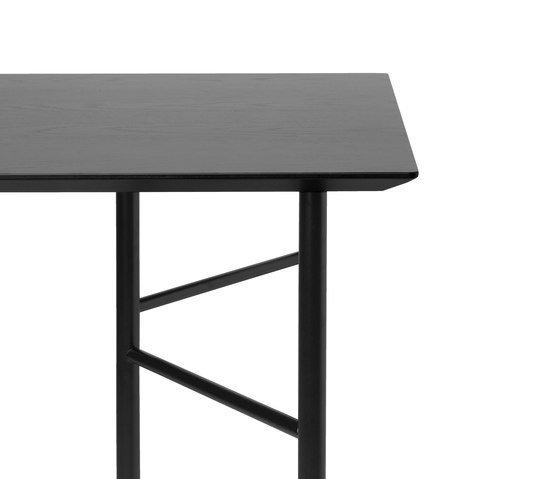 Mingle Table Top - Black Veneer - 160 cm by ferm LIVING | Materials